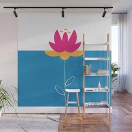 FlowerPower Wall Mural