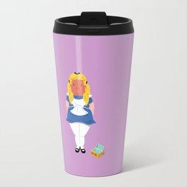 Alice in worriedland Travel Mug