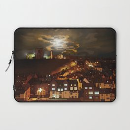 Whitby By Moonlight  Laptop Sleeve