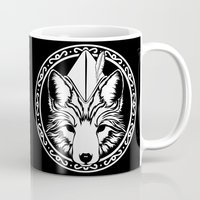 robin hood Mugs featuring Foxin Hood by AdamAether