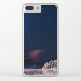 Stars at Patagoninan Night Clear iPhone Case