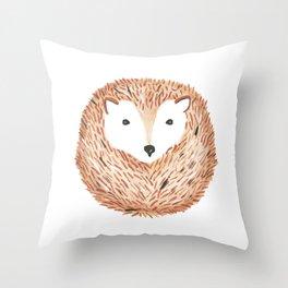 Hérisson. Throw Pillow