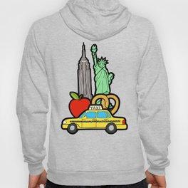 New York, New York Pattern Hoody