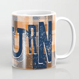 Auburn Plaid Coffee Mug