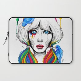 Zooey - Twisted Celebrity Watercolor Laptop Sleeve