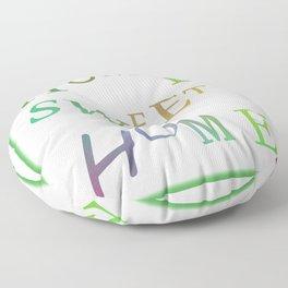Home Sweet Home 2 Floor Pillow