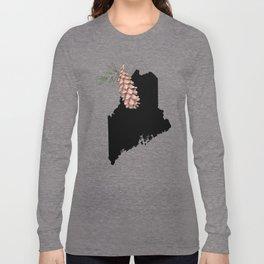 Maine Silhouette Long Sleeve T-shirt