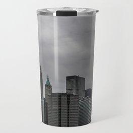 NYC Cityscape View Travel Mug