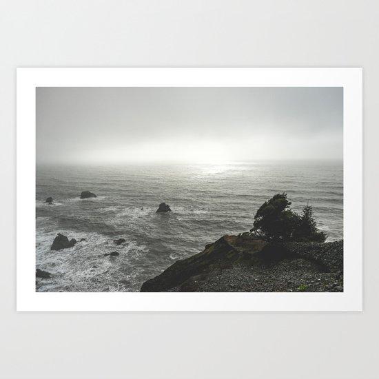 Ocean Emotion Art Print