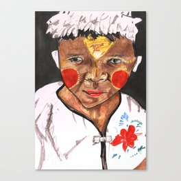 Lonely Boy Canvas Print
