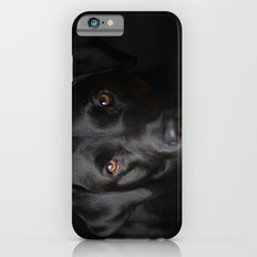 Black Labrador iPhone 6 Slim Case