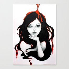 Pour Canvas Print