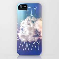 fly away in the sky iPhone (5, 5s) Slim Case