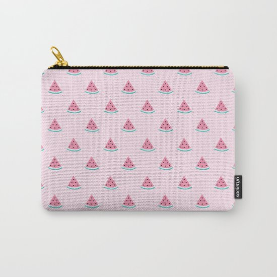 Watermelon Slice By Everett Co Carry-All Pouch