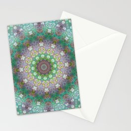 Bee Garden Mandala Stationery Cards