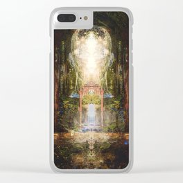 The Realization of Paradise Clear iPhone Case