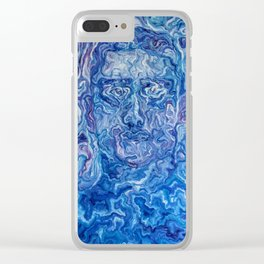 Spirit Self Portrait Clear iPhone Case