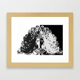 Parvati/Kali Framed Art Print