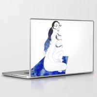 blanket Laptop & iPad Skins featuring Star Blanket by Stevyn Llewellyn