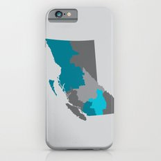 British Columbia Map Print iPhone 6s Slim Case