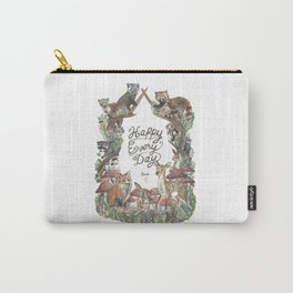 Happy Every Day! Carry-All Pouch