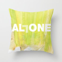 SUNDAYS ARE FOR SOULMATES / ALL ONE Throw Pillow