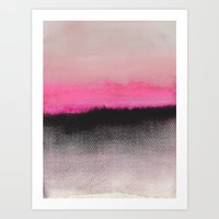 strong Art Prints featuring Double Horizon by Georgiana Paraschiv