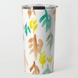 180726 Abstract Leaves Botanical 21 Travel Mug