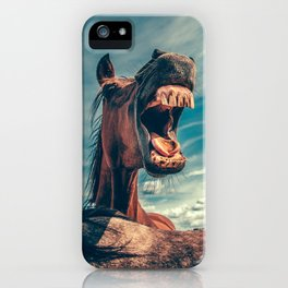 Big Horse Mouth iPhone Case