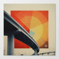 Orange Crush II Canvas Print