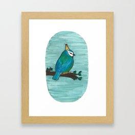 Party Bird Framed Art Print