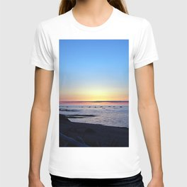 Sun Sets up the River, Across the Sea T-shirt
