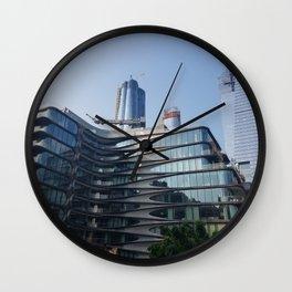 city_8 Wall Clock