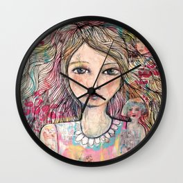 Just a Girl  Wall Clock