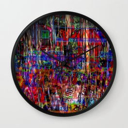 Down And Out And Junk In The Candy Kingdom [A Simple Constraint Series] Wall Clock