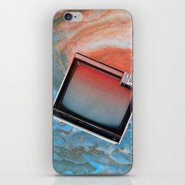 static flow iPhone Skin