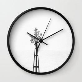 Towers2 Wall Clock