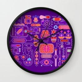Graphic Design Process Wall Clock