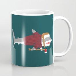 Shark LumberJack Coffee Mug