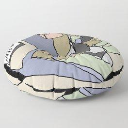 STOCK EXCHANGE         by     Kay Lipton Floor Pillow