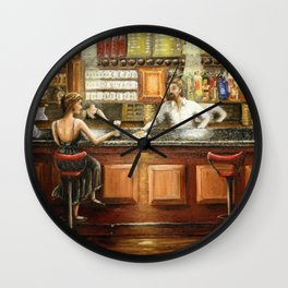The Tapas Bar Wall Clock