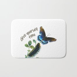 Give yourself time Bath Mat