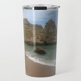 Breath Taking Beach in Portugal Travel Mug