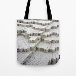 Pyramid in Lima Tote Bag