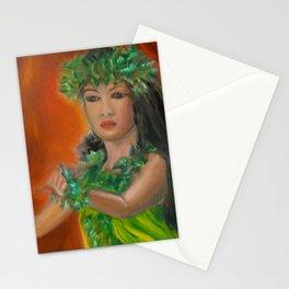 enter Stage Hula Stationery Cards