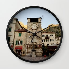 Clock Tower 2 Wall Clock