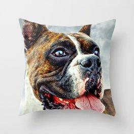 The Boxer. Throw Pillow