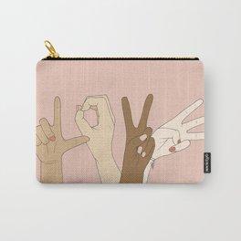 L O V E Carry-All Pouch
