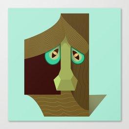 One treant face Canvas Print