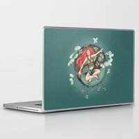 ying yang Laptop & iPad Skins featuring Ying Yang by Catru